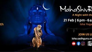 🔴 Live: Isha Shivrathri