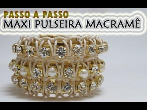 Maxi Pulseira Macramê