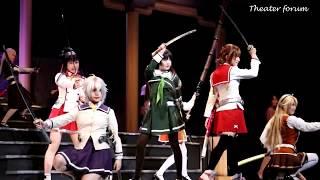 SKE48メンバーが主要キャストを演じる、舞台『刀使ノ巫女』ダイジェスト映像