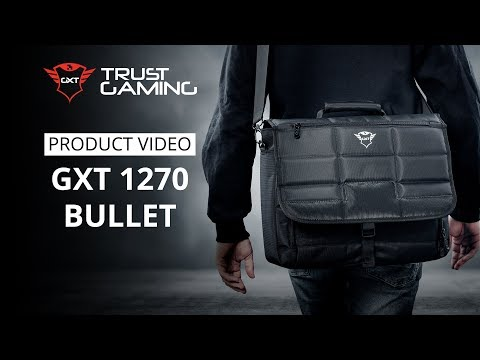 "Sülearvutikott Trust GXT 1270 Bullet Gaming Messenger Bag, 15.6"" 23311"