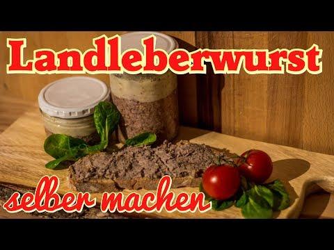 Landleberwurst selber machen - Leberwurst Rezept