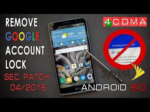 Sprint LG G STYLO LS770 Network unlock - смотреть онлайн на
