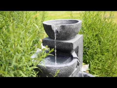 CLGarden® Solar Springbrunnen NSP12 für Garten, Terrasse und Balkon