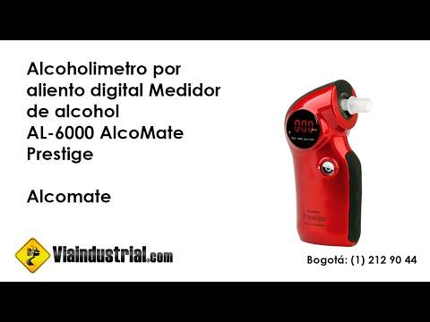 Alcoholímetro por aliento digital Medidor de alcohol AL-6000