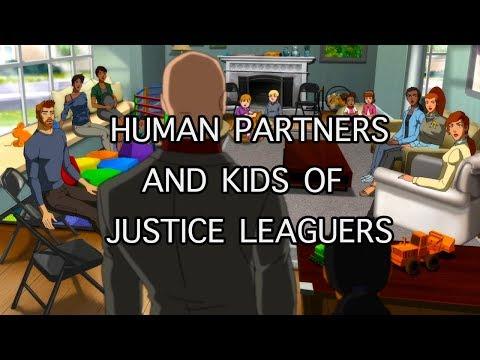 Human Partners & Kids of Justice League Heroes : Superman's / Flash's / Aquaman's etc.