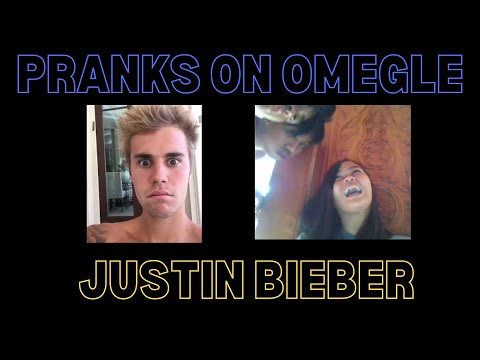 Pranks on Omegle - Justin Bieber || Reactions