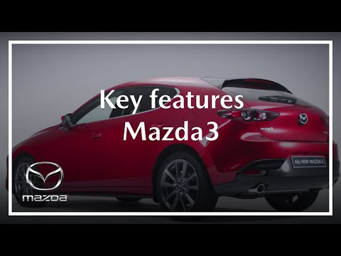 All-new Mazda 3 Key Features