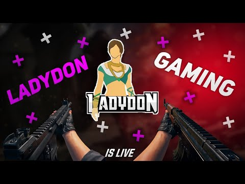 ✌🏻 Royal pass Giveaway.. Join !discord for details ✌🏻| 🛑 LadyDon is Live 🛑 | PUBGM |