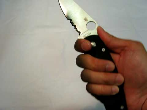 Spyderco Military Knife Review