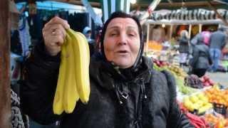 Новый год на рынке Беркат в Грозном
