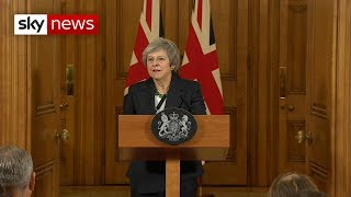 In full: Theresa May stands defiant on Brexit agreement