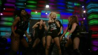 [1080p] Christina Aguilera - Not Myself Tonight (Live With Regis And Kelly 06.10.10 )