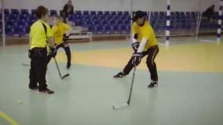 Тренировка на дриблинг и финты