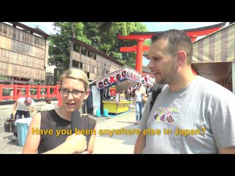 Travelers' Voice of Kyoto:FUSHIMI INARI Area Interview 004