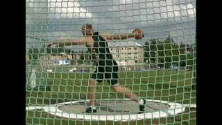 Robert Harting - 70,66m (PB) - Danek Memorial 2012 - front view