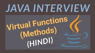 What is Virtual Function in Hindi  | Virtual Function in Java | #12