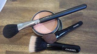 How to Apply Jane Iredale Blush / Bronzer with Mac Brush 116