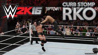 WWE 2K16: Curb Stomp Into RKO Video - WrestleMania 31