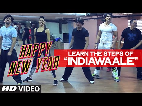 OFFICIAL: Learn 'India Waale' DANCE STEPS with Shahrukh Khan   Happy New Year