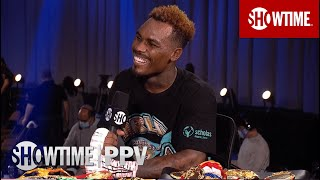 Jermell Charlo After KO Win Over Rosario: 'Leave Me Alone At 154, I'm The Man' | SHOWTIME BOXING PPV