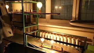 ЛЭП Однопроводная линия single-line power transmission line