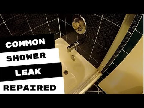 Most Common Leaks On A Tub and Shower No Access Panel