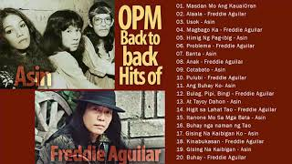 Asin, Freddie Aguilar Greatest Hits NON-STOP || Freddie Aguilar, Asin tagalog Love Songs Of All Time