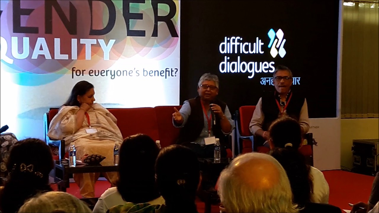 Professor Shohini Ghosh talks at the Difficult Debate 2018