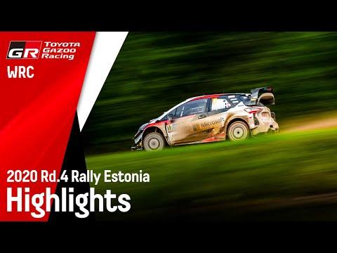 WRC ラリー・エストニアで活躍したTOYOTA GazooRacing yarisuWRCの走りを集めたダイジェスト映像