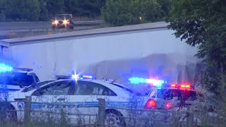 RAW VIDEO: Scene after 5 killed in NC interstate crash