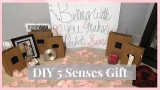 DIY VALENTINES GIFT FOR HIM: 5 SENSES | Kelsey Olivia
