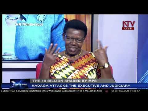Kadaga and the UGX 10 Billion shared among MPs | ON THE SPOT