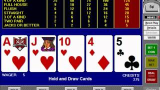 Video Poker - How to Play and Win at Jacks or Better