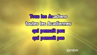Karaoké Tous les Acadiens - Natasha St-Pier *