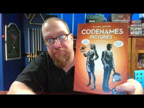The Board Game Kaptain's review and tutorial for Codenames: Pictures