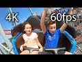 Sea Viper front seat on-ride reverse ridercam 4K POV @60fps Palace Playland
