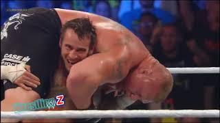 WWE 9 February 2019 CM Punk Destroyed Brock Lesnar At SummerSlam