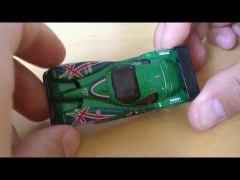 Hot Wheels Panoz GTR-1 (1999 Green Version)