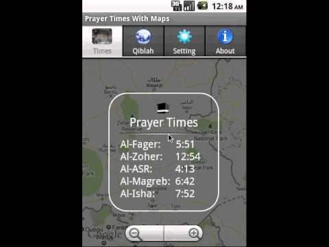 Vídeo do Prayer Times With Google Maps