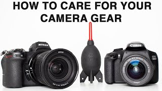 How To Clean Lenses & Cameras - A Beginners Guide To Looking After Your Photography Gear.