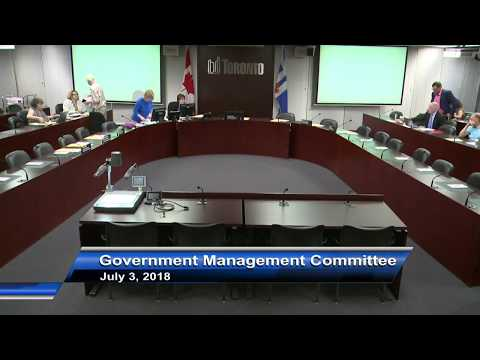 Government Management Committee - July 3, 2018