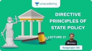L21: Directive Principles of State Policy   UPSC CSE/IAS 2020   Rangarajan IAS (AIR 46)