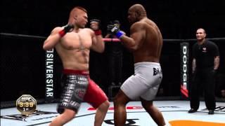 UFC Undisputed 3: Brock Lesnar vs Bob Sapp [Amazing Knockout!]