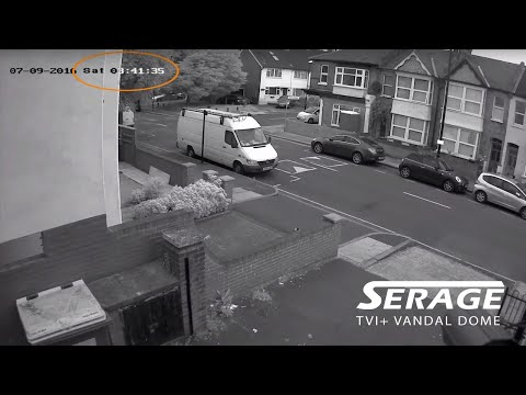 Serage TVI+ Pro 50m Smart IR Vandal Dome Camera