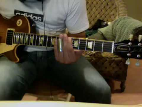 Slide test under Ry Cooder theme