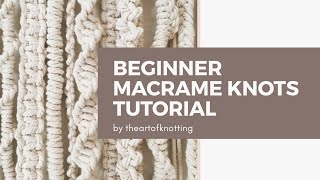 February 2, 2020 | Beginner Macrame Knots Tutorials |   The Art Of Knotting | Priya Sharma