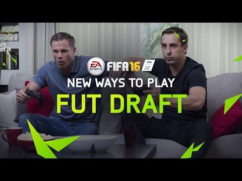 FIFA 16 Ultimate Team - FUT Draft Trailer ft. Gary Neville & Jamie Carragher