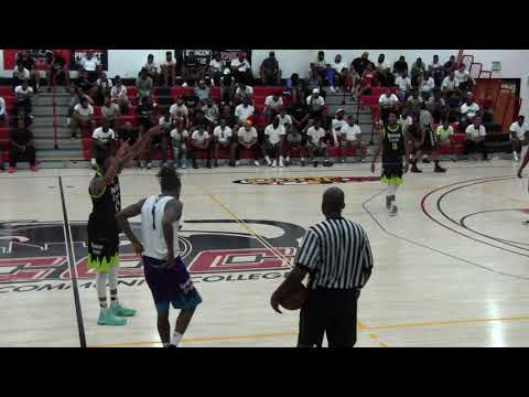 Team Dream vs Sams Ballers 3rd Qtr- 2018 Brunson League Playoffs Quarterfinals @BCCC