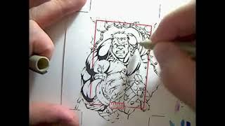 World War Hulk- Marvel 70th Anniversery Sketch Card