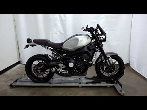 2016 Yamaha XSR900 in Eden Prairie, Minnesota - Video 1